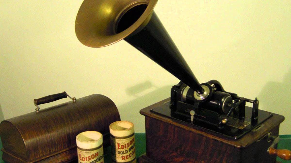 Edison'un Fonografı