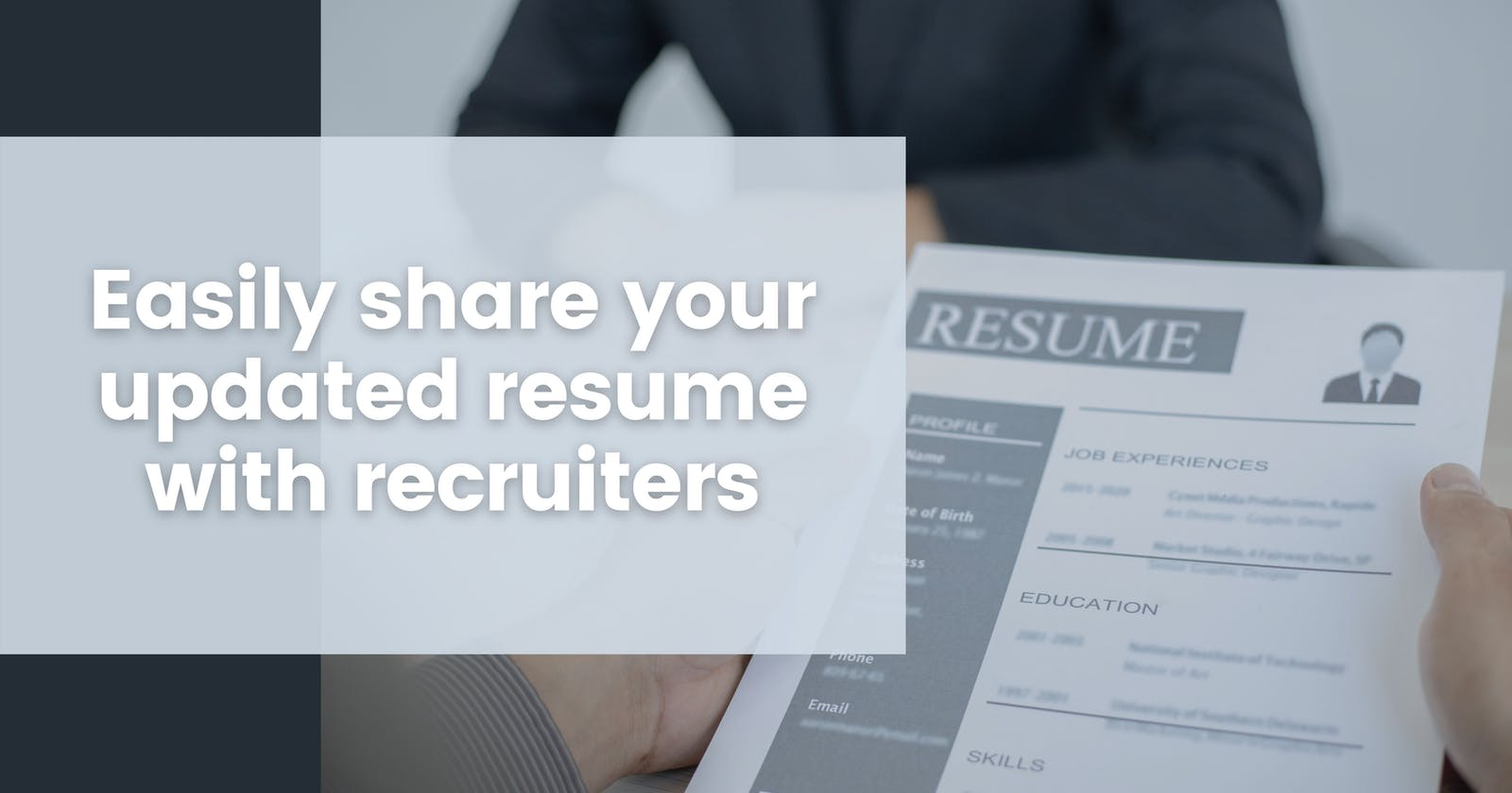 Your one stop solution to sharing your resume with everyone using GitHub