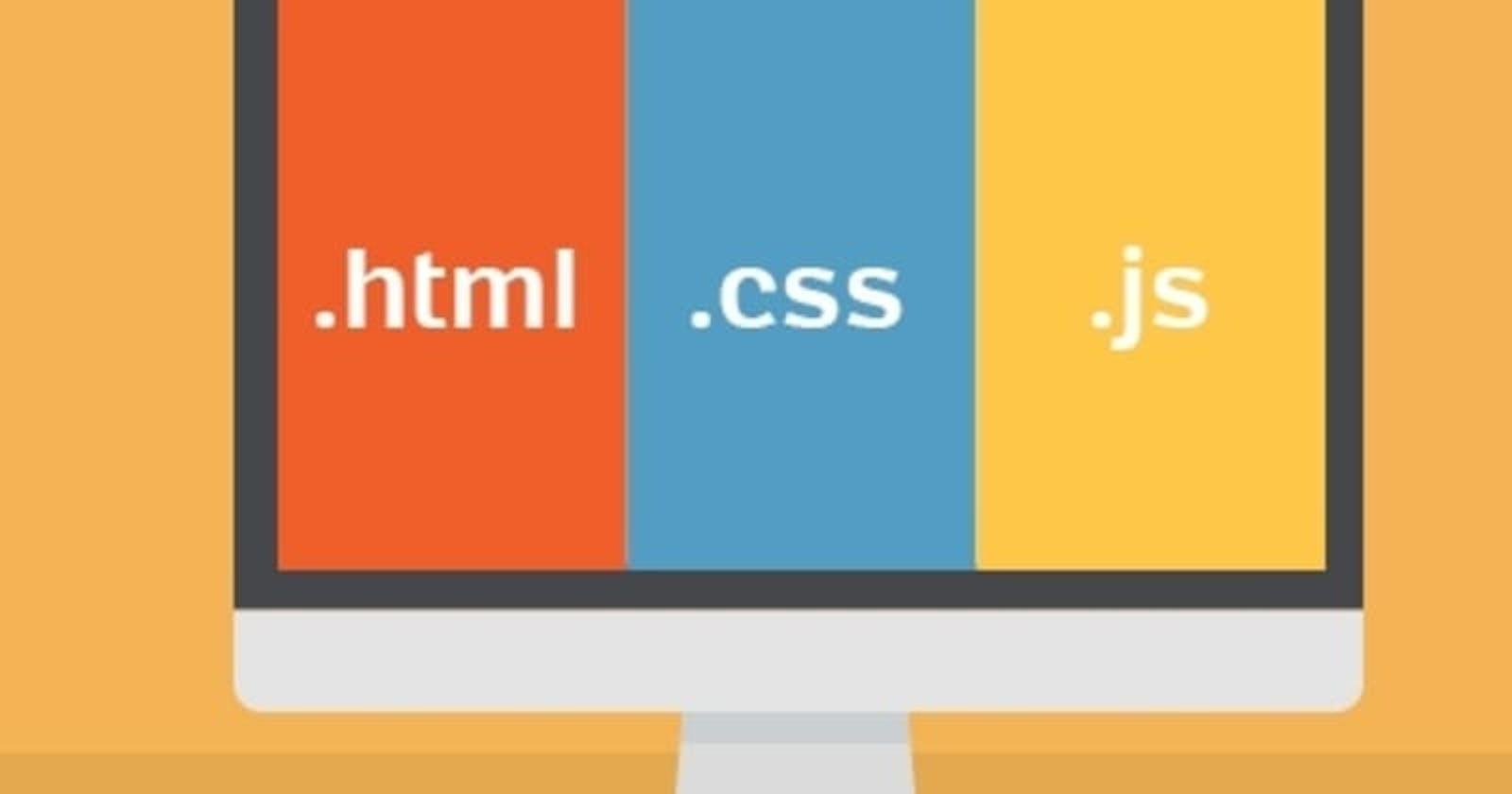 Web basics: sending HTML, CSS and Javascript content through HTTP