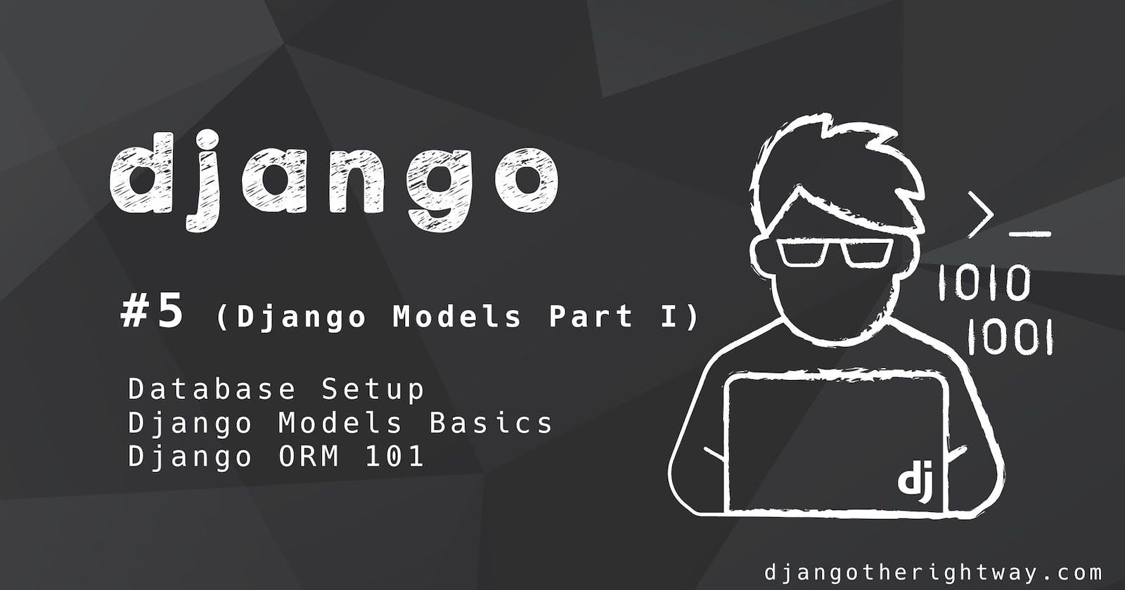 Django Models Part I