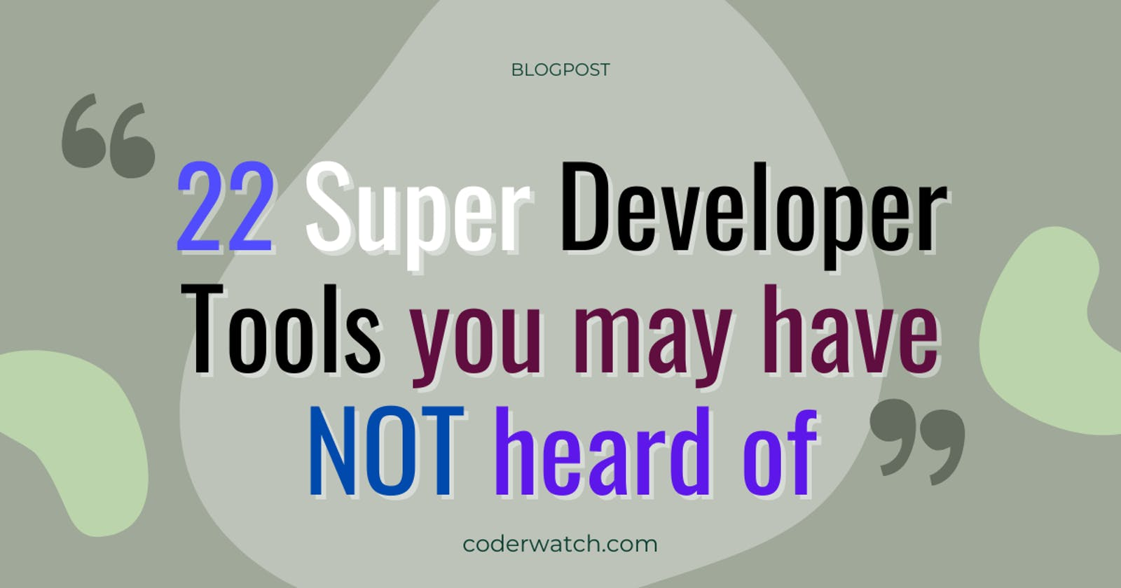21+ Super DevTools you may have not heard of