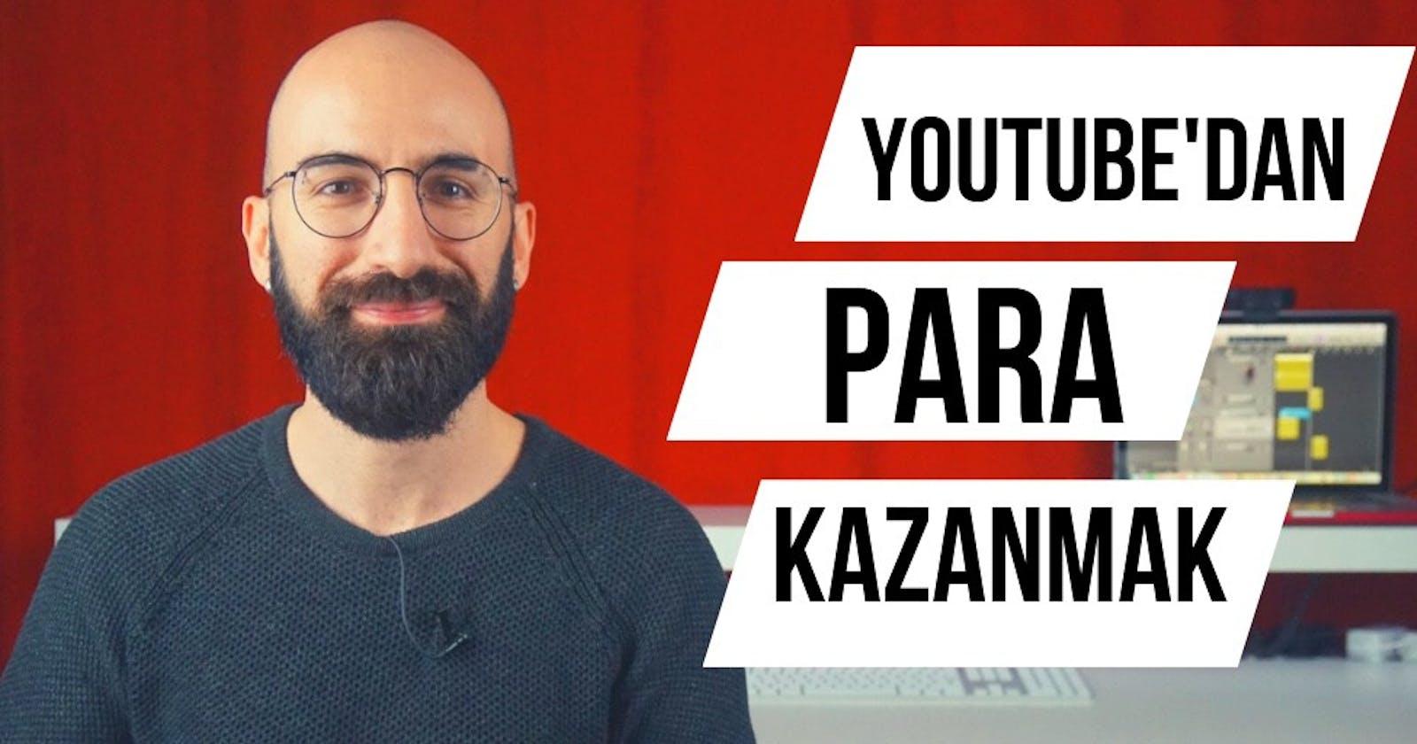 Youtube'da Para Kazanma Aktifleştirme Nasıl Açılır?