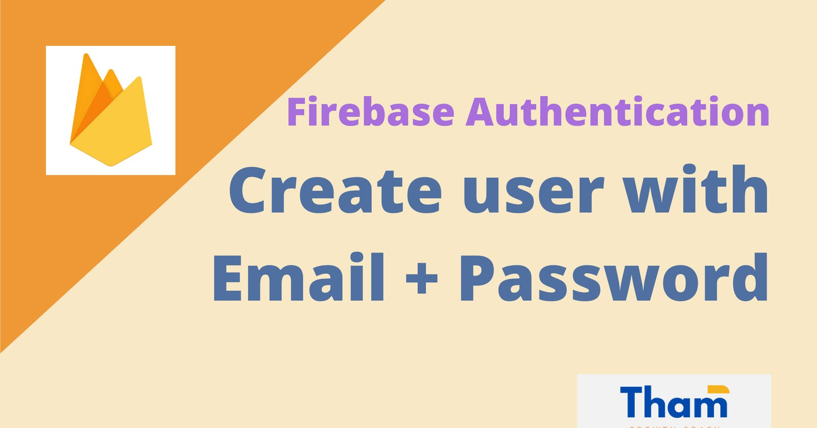 Firebase Authentication: Create user with email and password