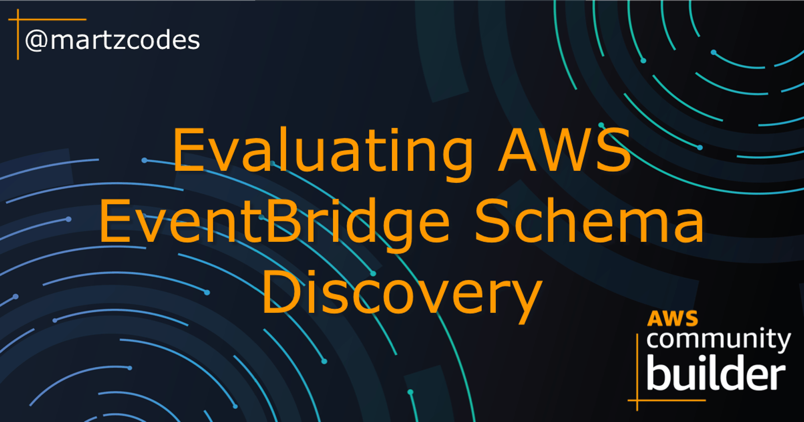 Evaluating AWS EventBridge Schema Discovery