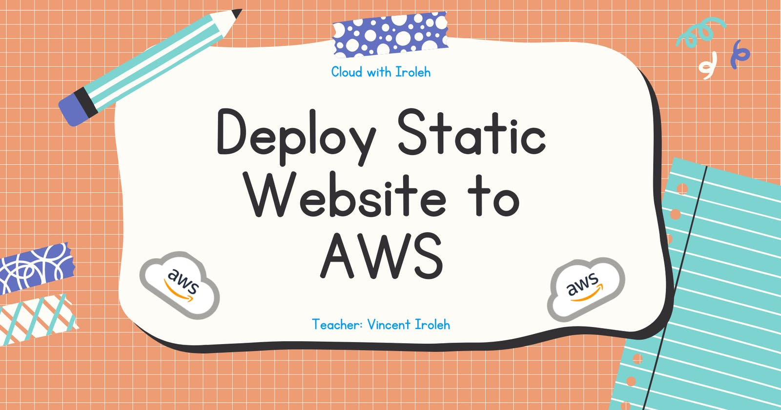 Deploy Static Website to AWS