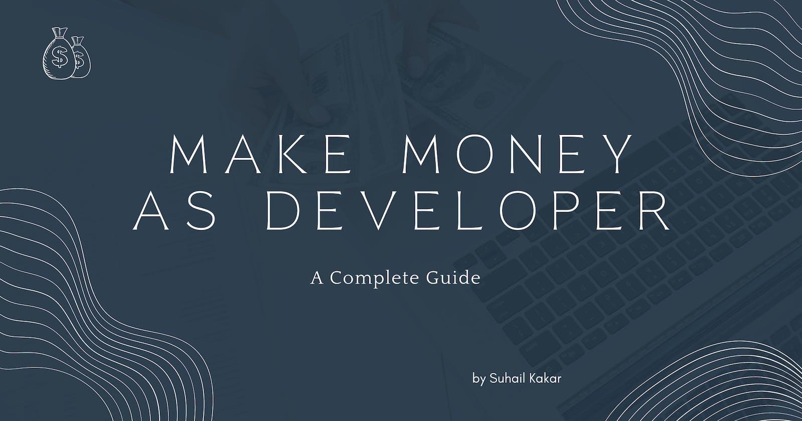 5 Easy Ways To Make Money As A Developer