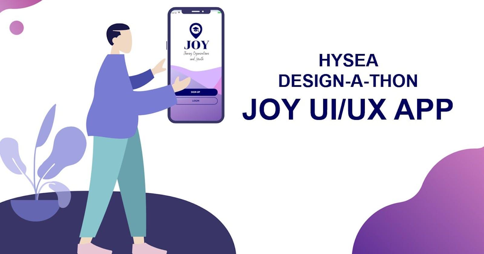 Joy UI/UX DESIGN
