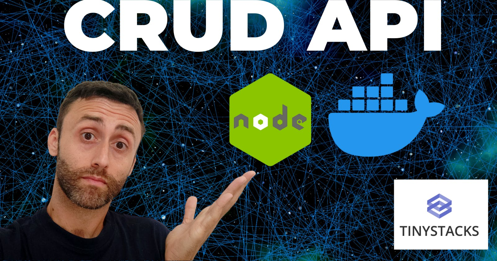 Local CRUD API Express App with Docker in 5 min