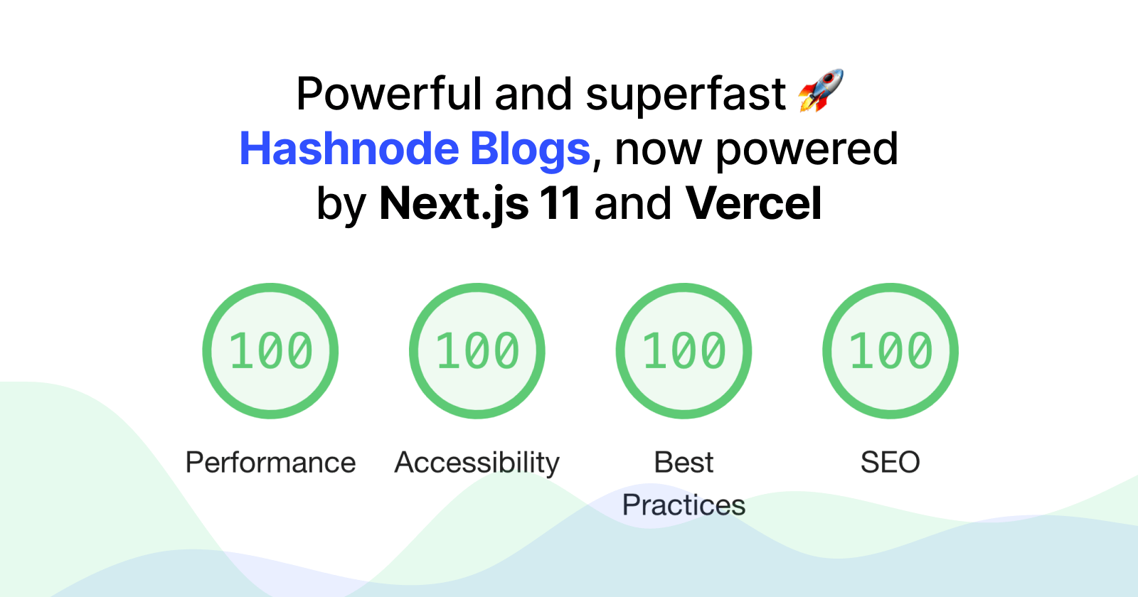 Powerful and superfast Hashnode Blogs, now powered by Next.js 11 and Vercel 🚀