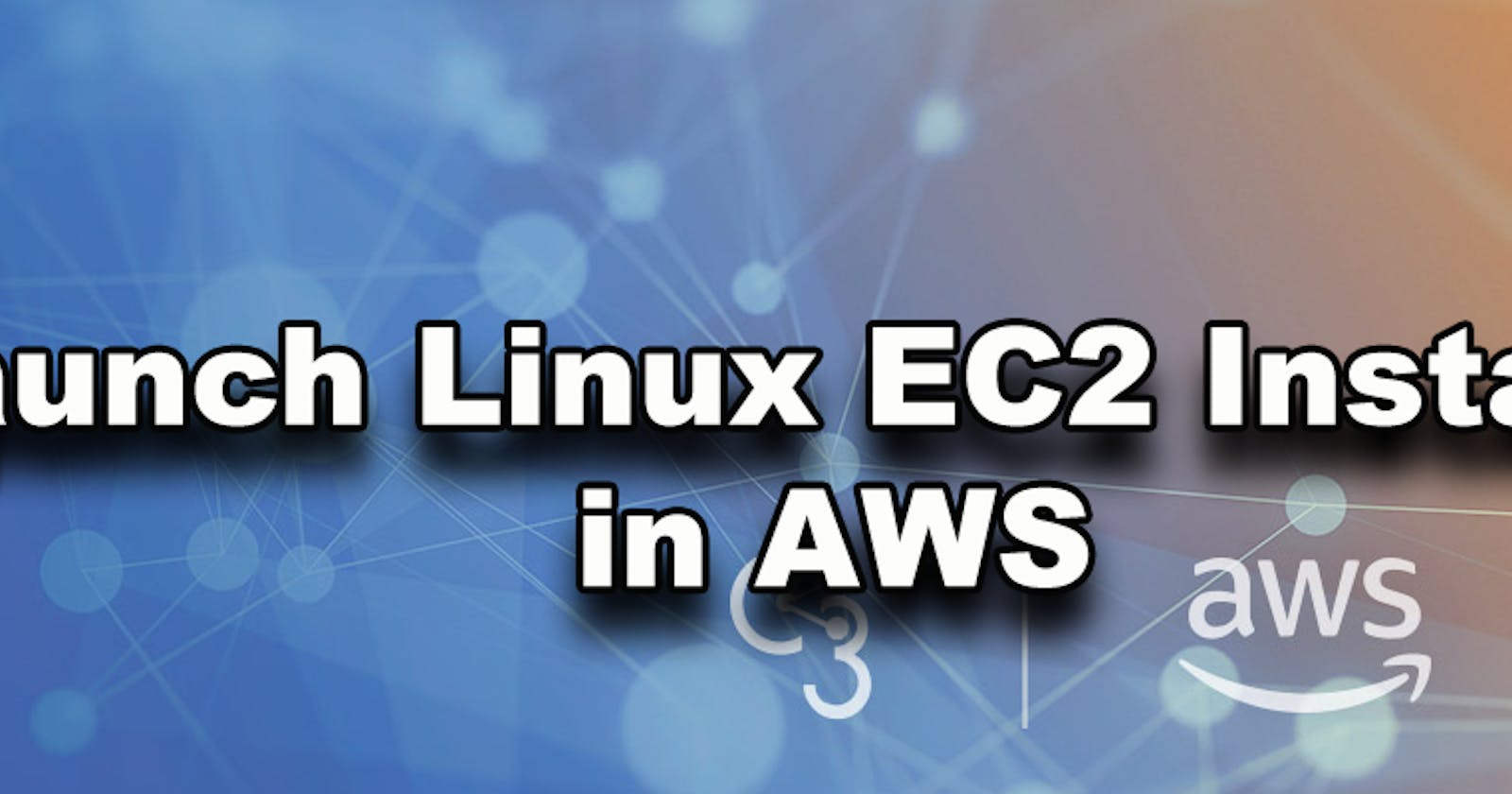 Launch Your First AWS Linux Instance