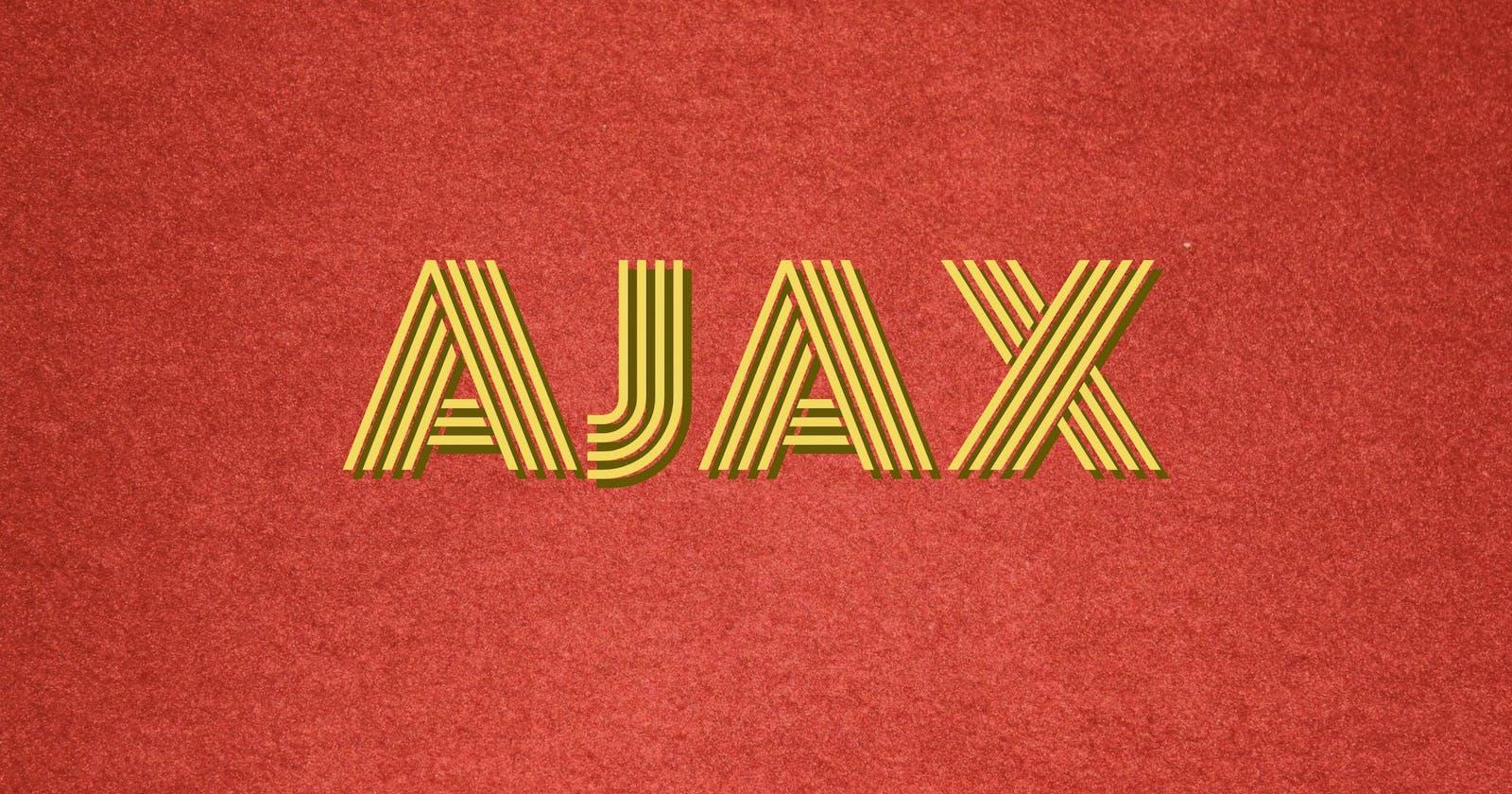Populate <select> via AJAX