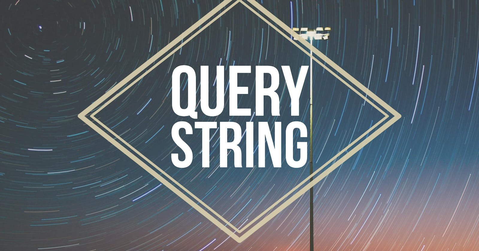 Access the browser's query string as a JavaScript Object