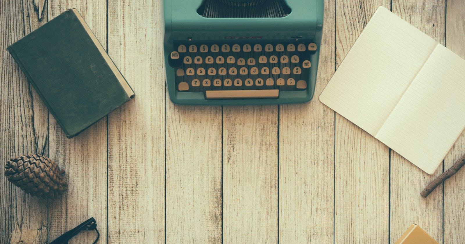 Become a better writer as a developer