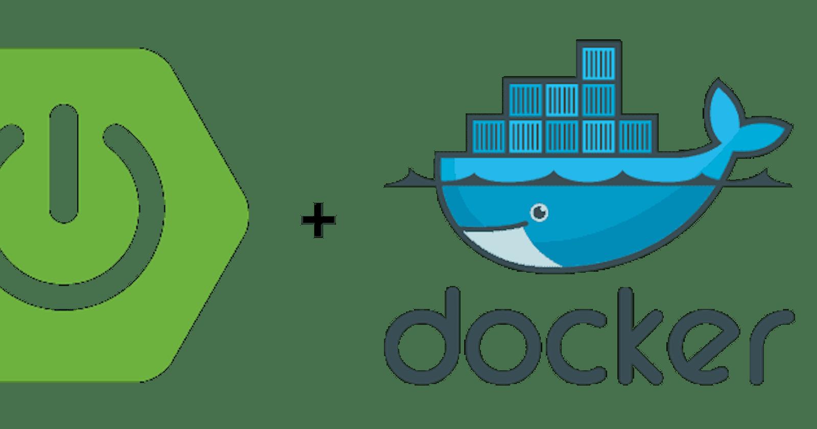 Spring Boot + Docker + AWS | Spring Boot and Docker