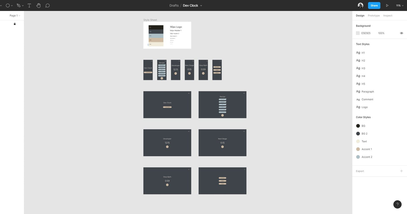 Designing Projects in Figma! 💻