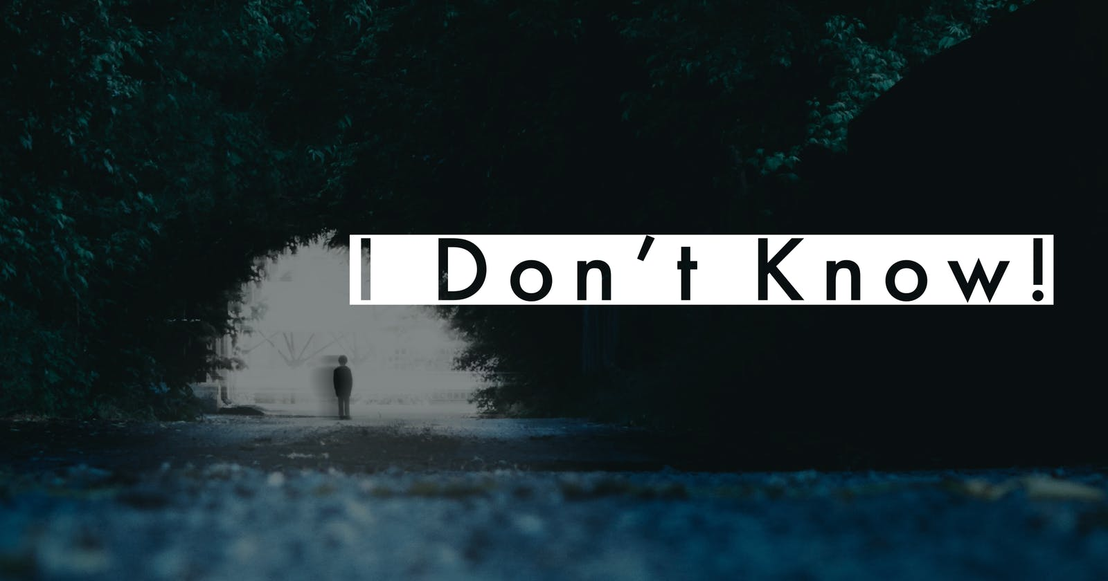 I don't know!