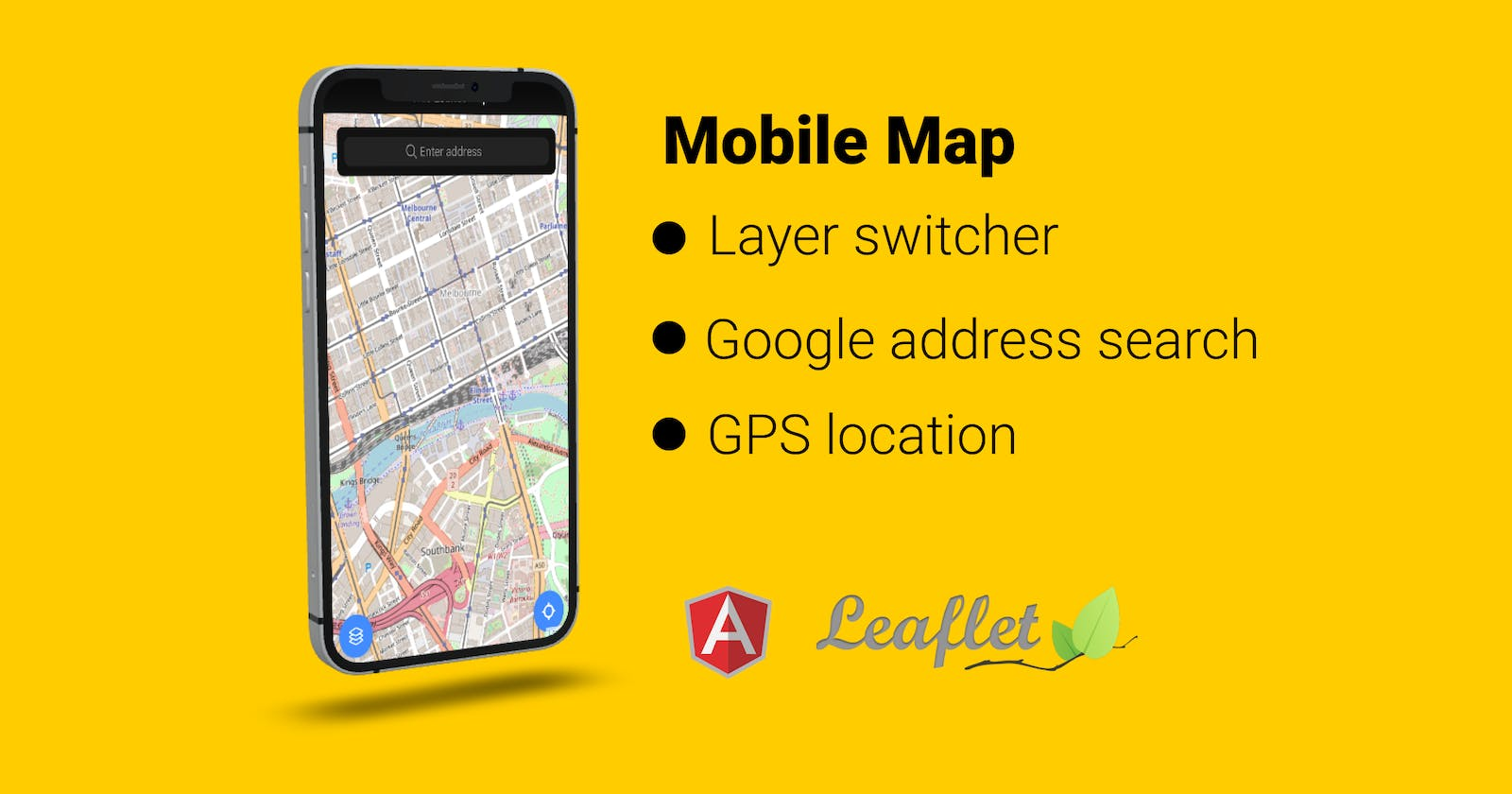 Build a PWA Map application using Ionic and Leaflet 🗺 🧭