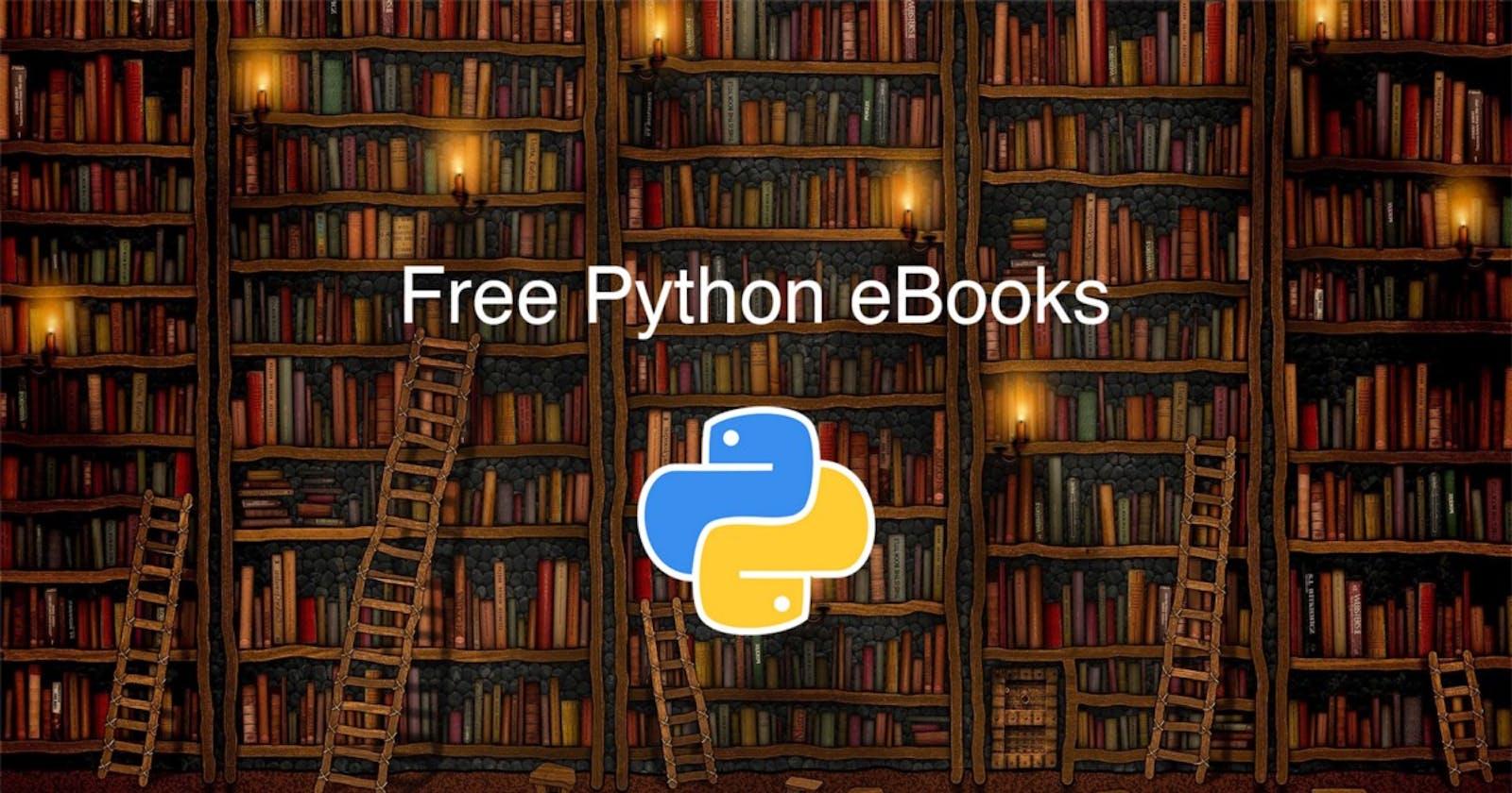11 Free eBooks to Learn Python