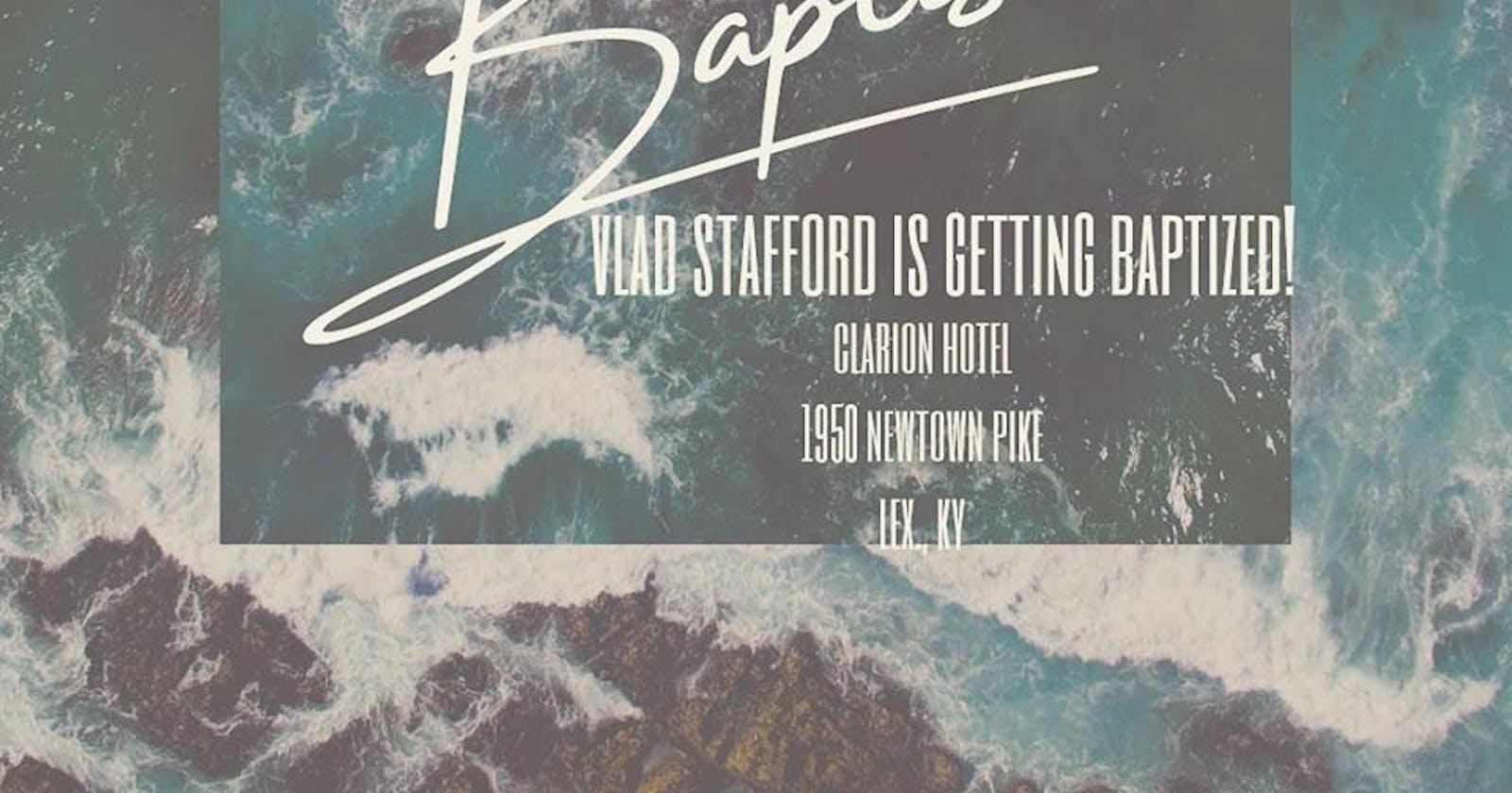 Life Vlog 01 – I Got Baptized
