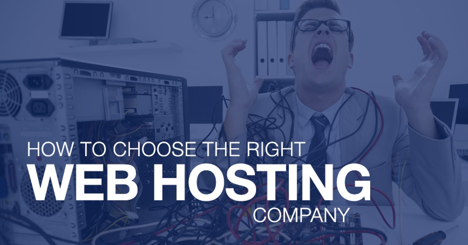 How to find the right web hosting company
