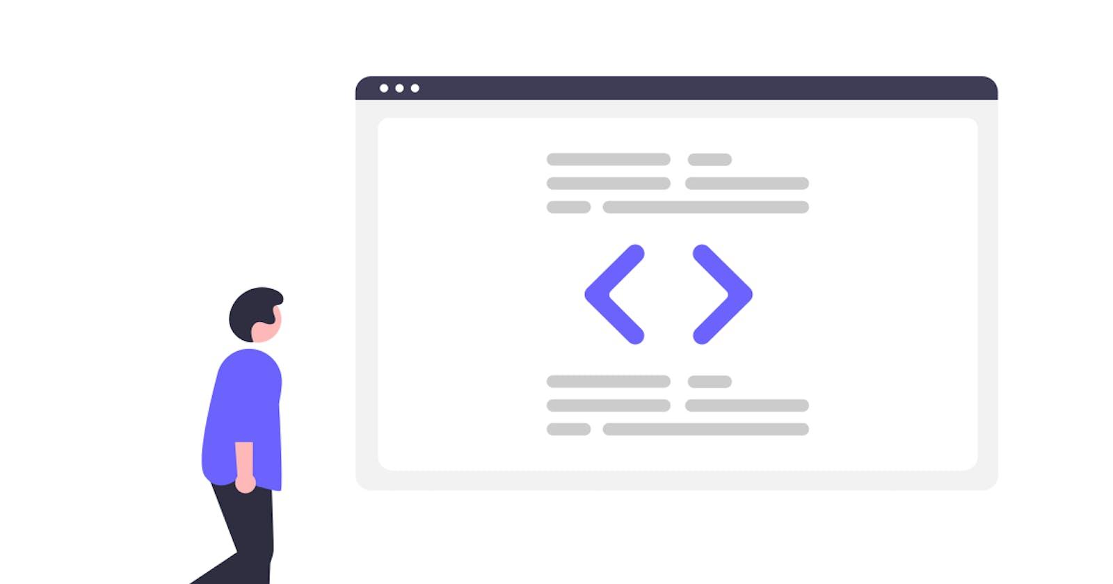 From zero to Web developer