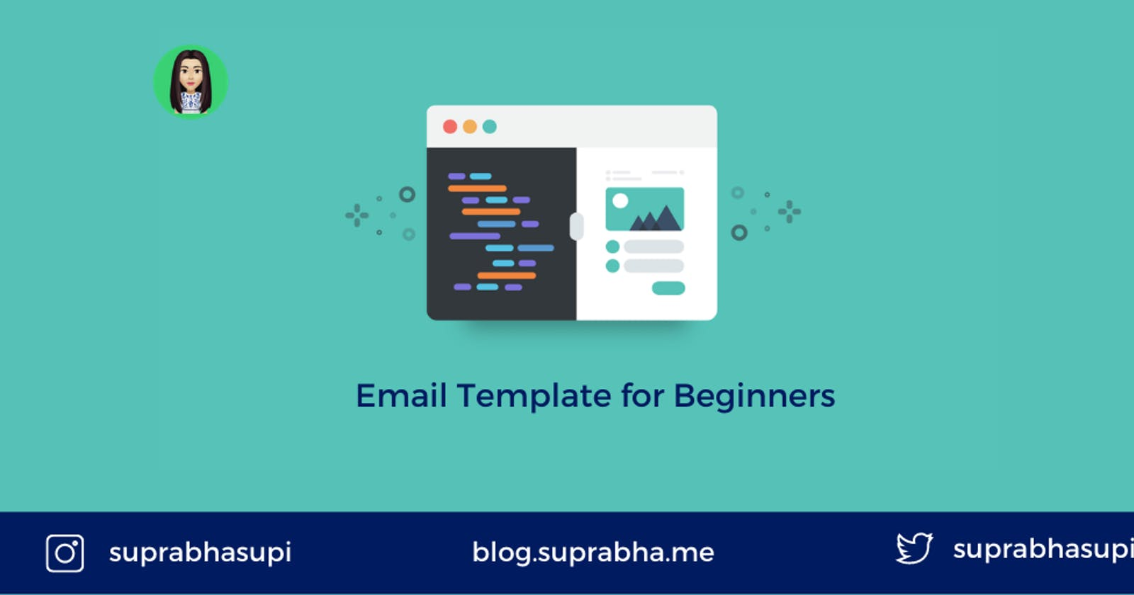 HTML Email Template for beginners