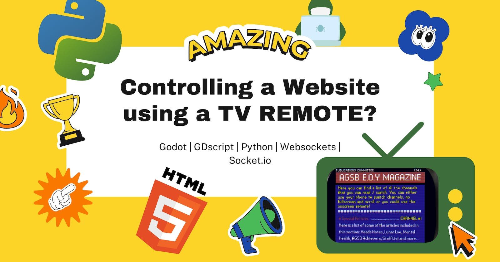 Controlling A Website with a TV Remote!!!