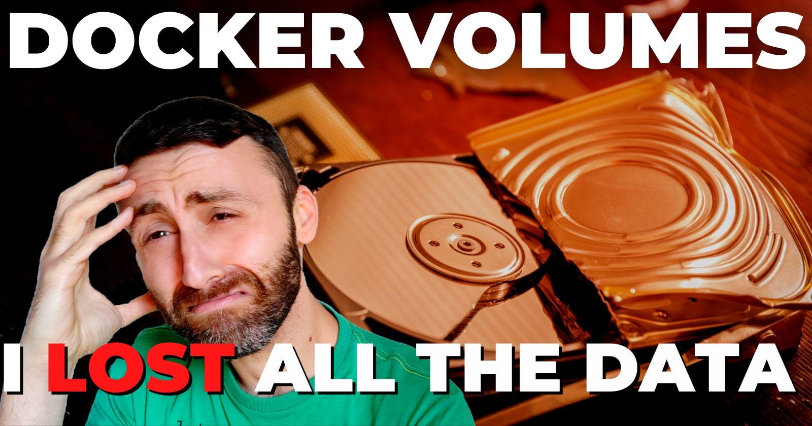 How to persist data in Docker: Volumes