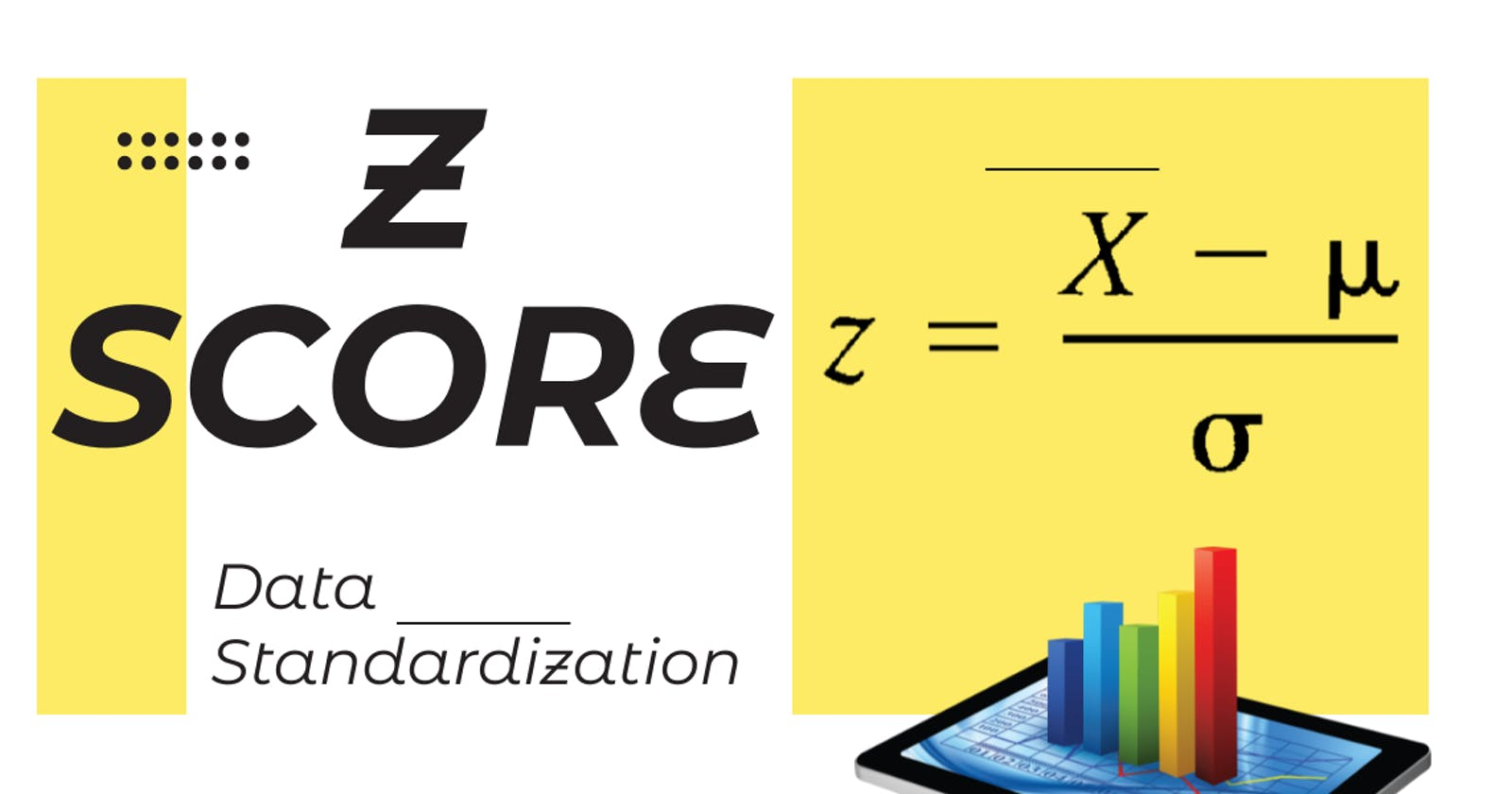 Z-score: The intuitive way