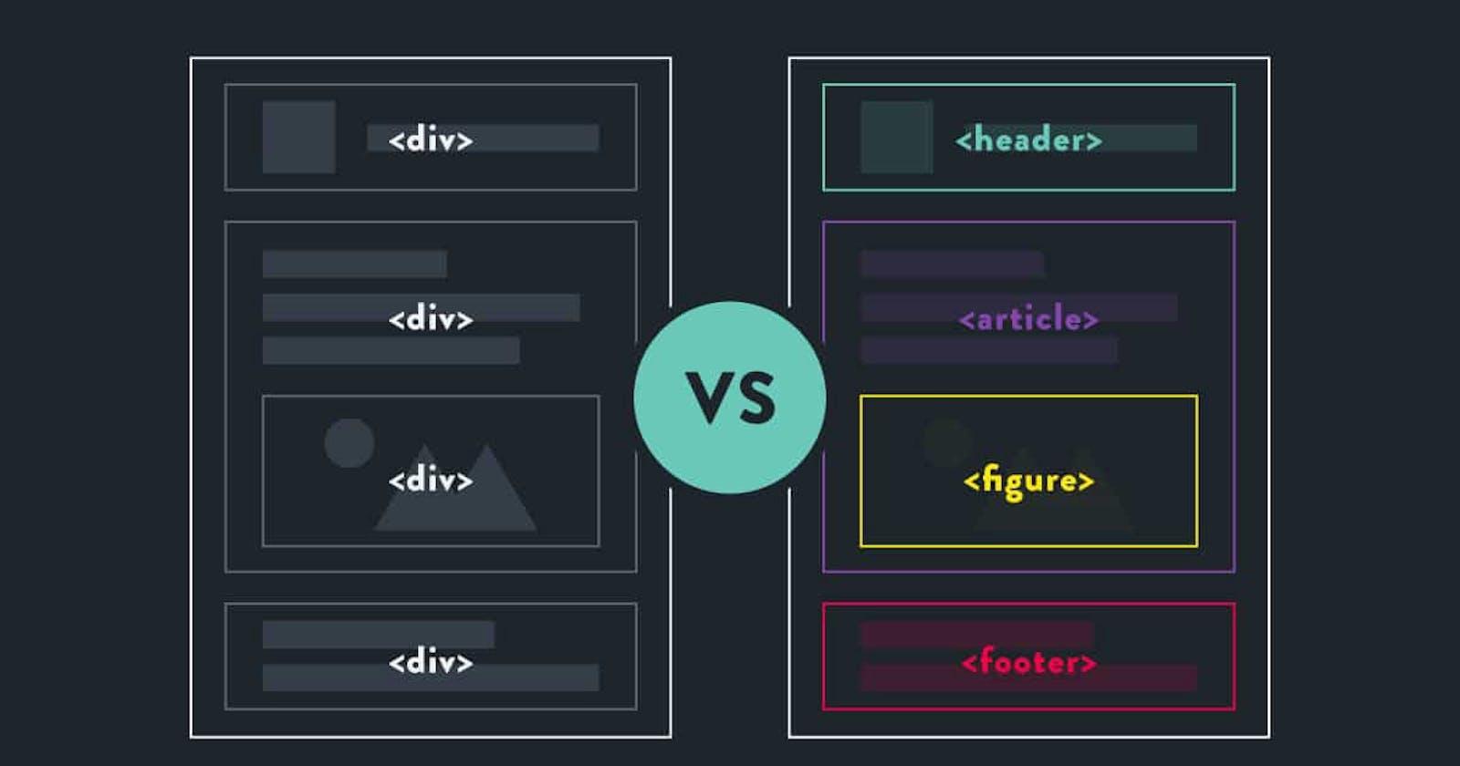 Beyond Divs: Semantic HTML