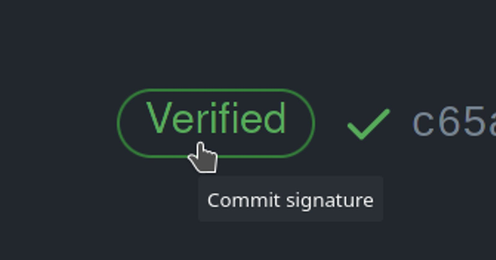 Sign your Github commits using GPG key