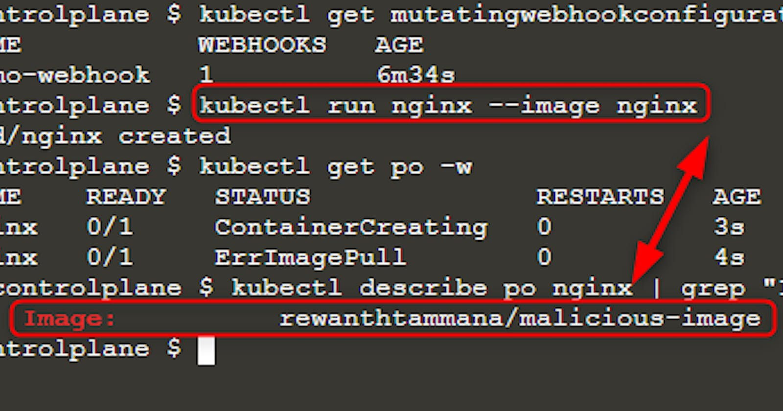 Creating Malicious Admission Controllers
