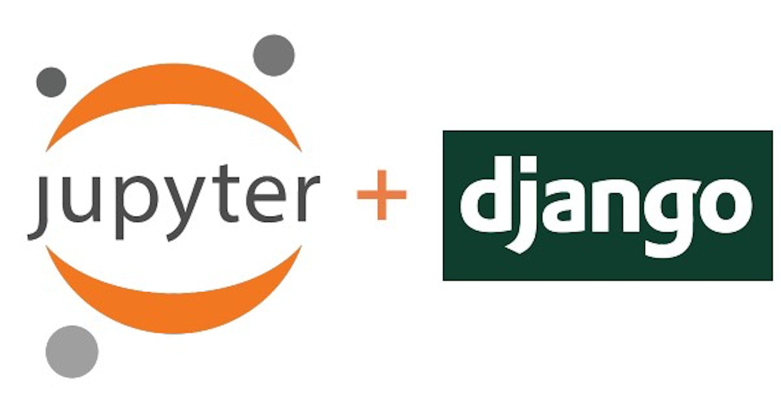 How to use Django shell in Jupyter Notebook