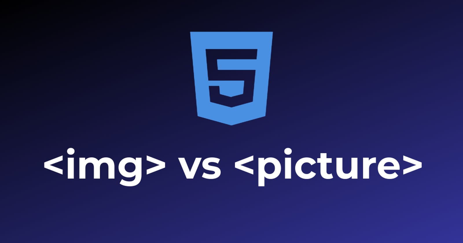 Responsive images. What to use: img or picture?
