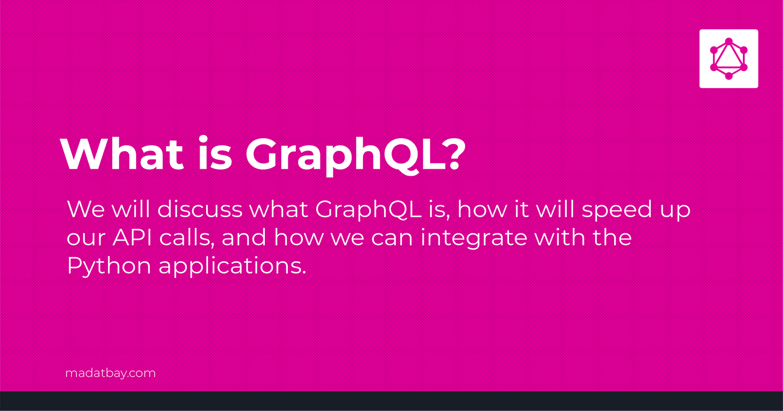 What is GraphQL and how to use GraphQL in Django? #01