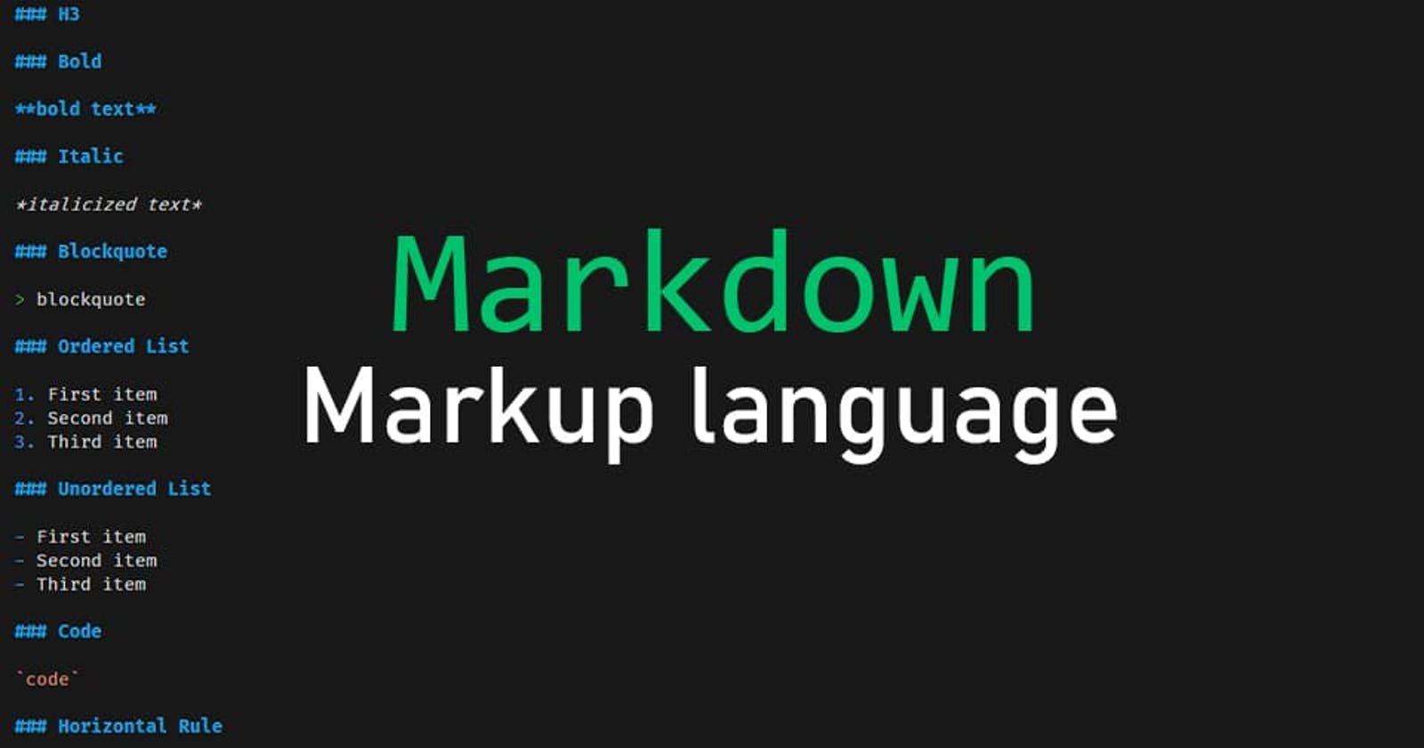 How to create a readme.md? The Markdown Markup Language: Syntax and Usage