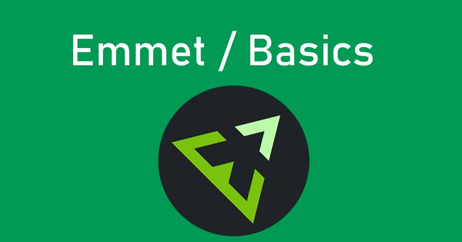 Increasing coding rate: Emmet and its use in VSCode