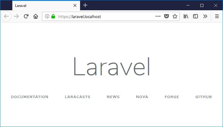 Laravel over HTTPS