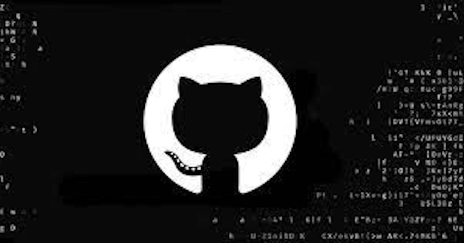 Understanding GitHub with OpenSource