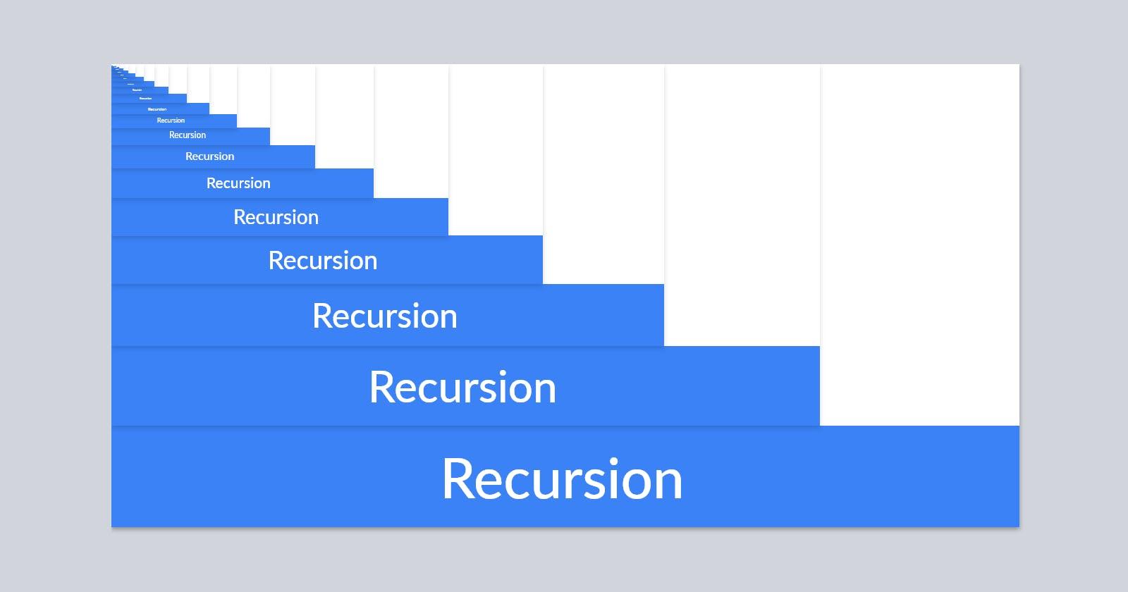 What Is Javascript Recursion? 🔁