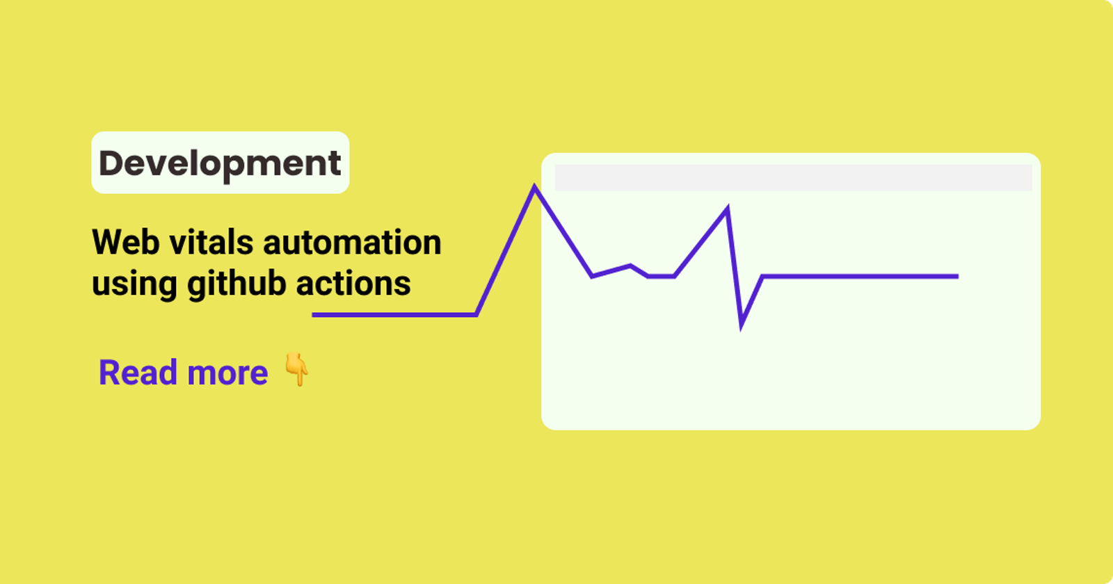Web vitals automation using github actions