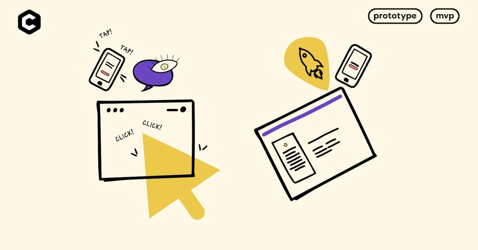 Prototype vs Minimum viable product