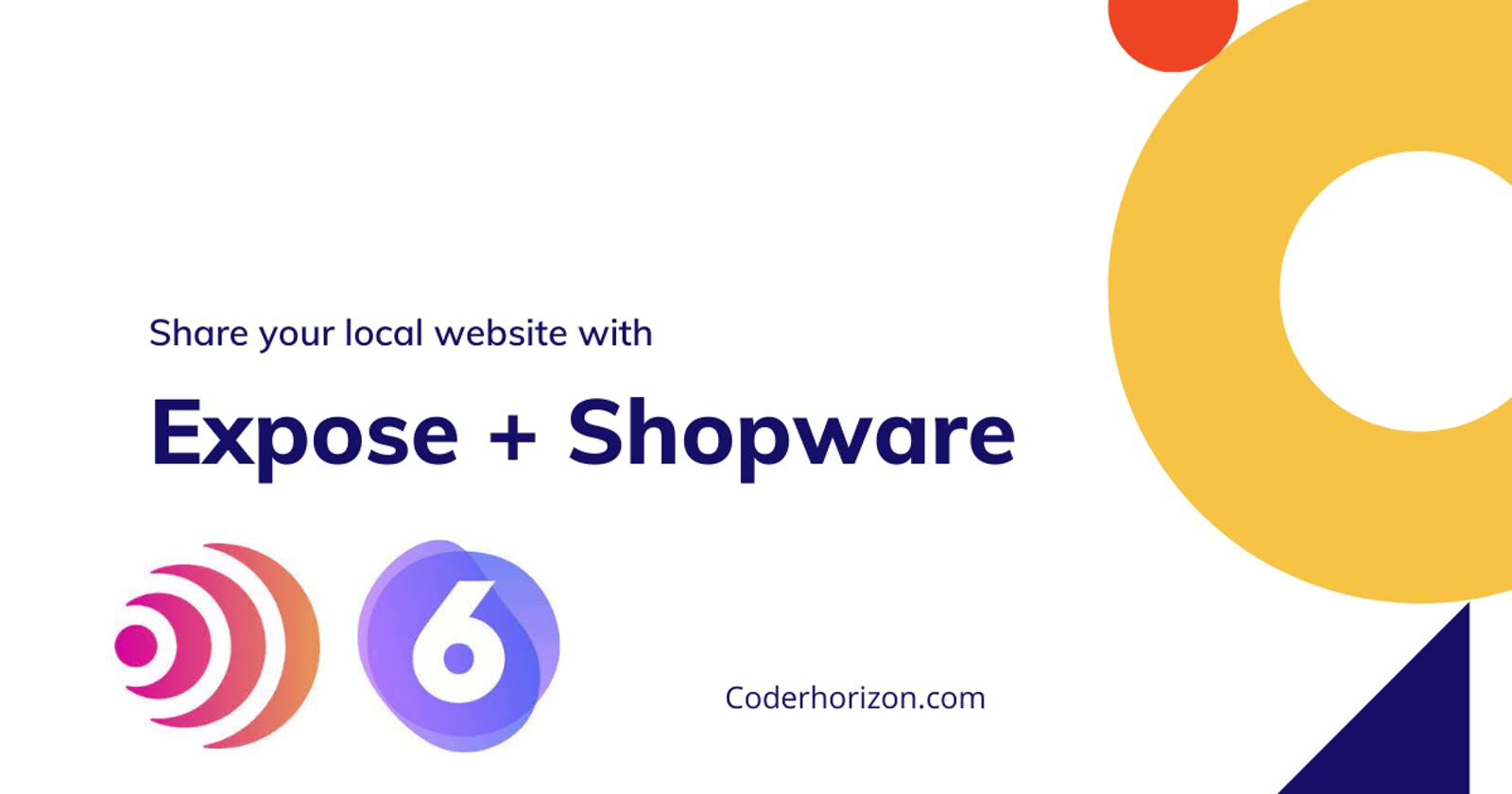 Share local Shopware with Expose to test on devices