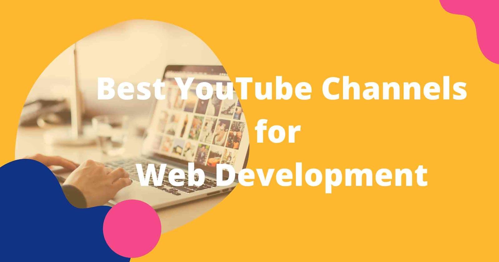 Top 10 Youtube Channels To Learn Web Development