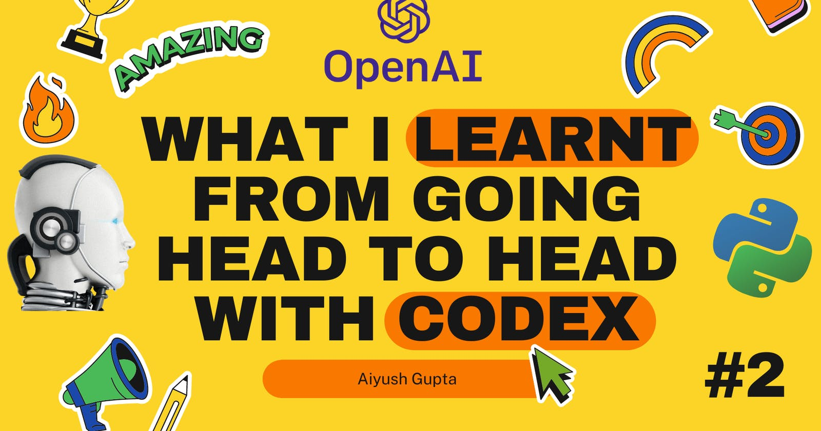 What I Learnt From Going Head to Head with Codex