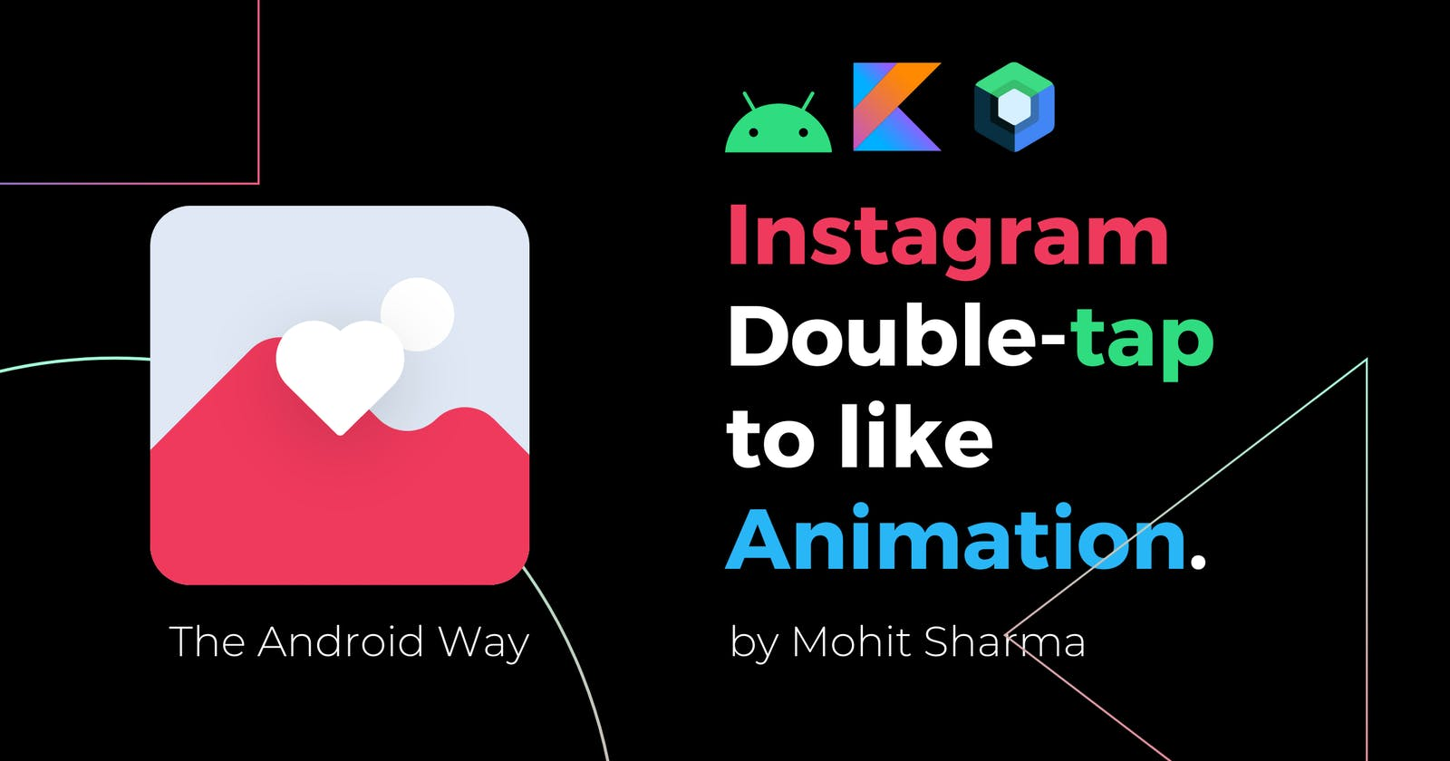 Instagram Double-Tap to Like Animation in Jetpack Compose