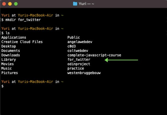 make new directory called `for_twitter`