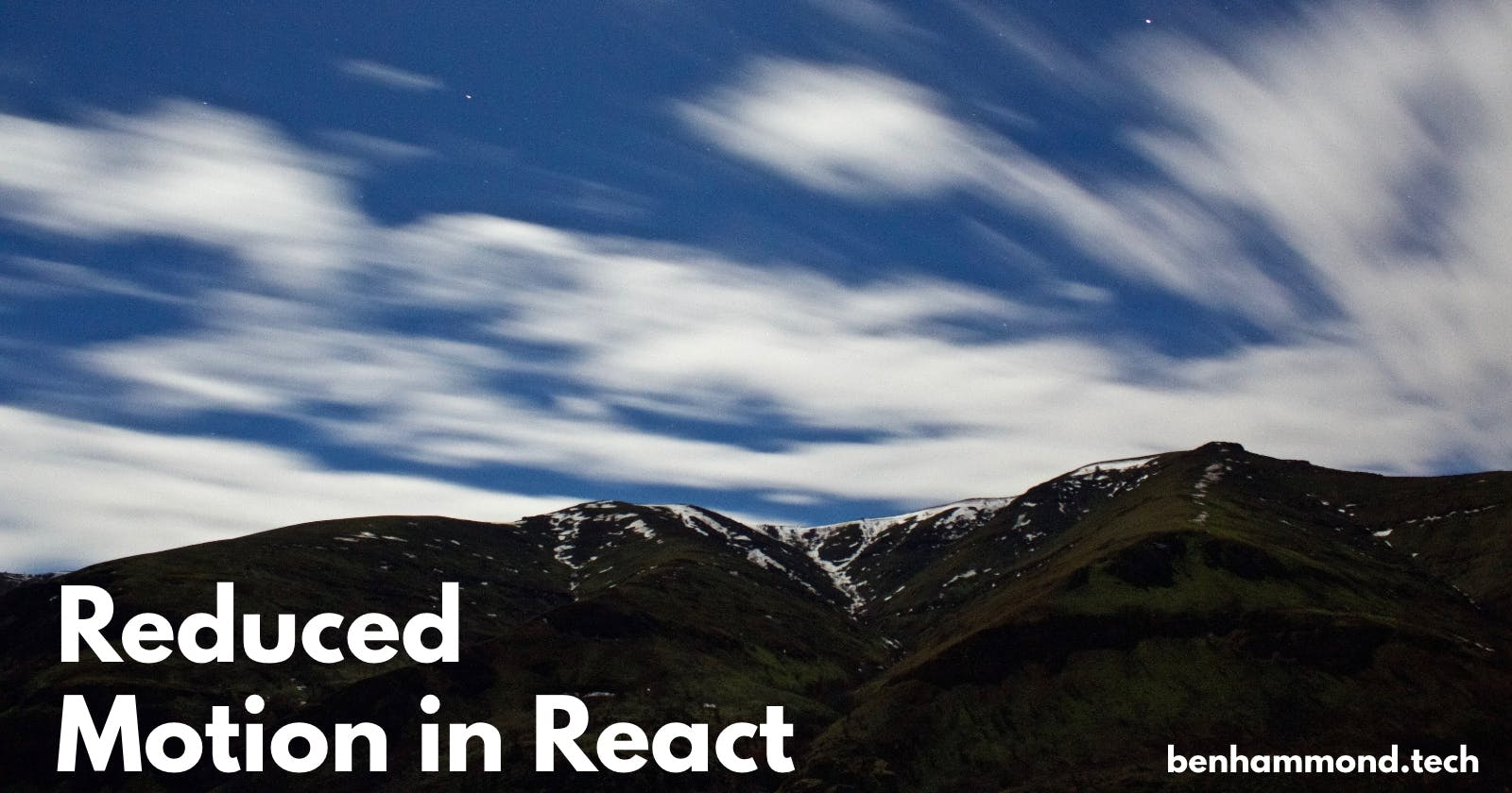 Honoring Reduced Motion Preferences in React