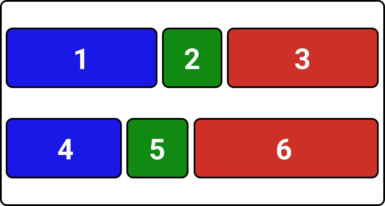 CSS flexbox justify-content: space-evenly;
