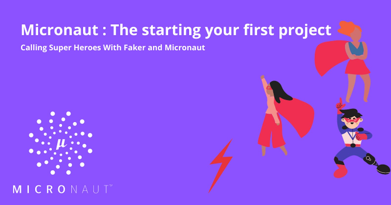 Micronaut : The starting your first project